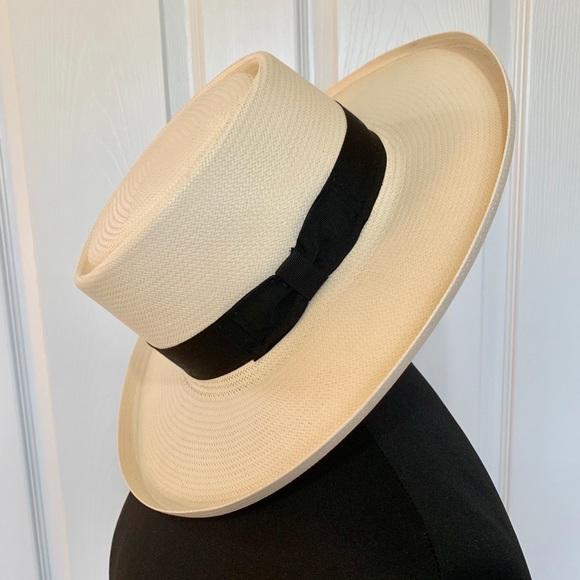 273f99f29fbcf Stetson Women s Colonel Straw Hat. M 5c7c8175a5d7c6e9596968c9